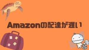【2020年記事】最近のアマゾンどうした?発送も遅いし日時も守ってくれない話