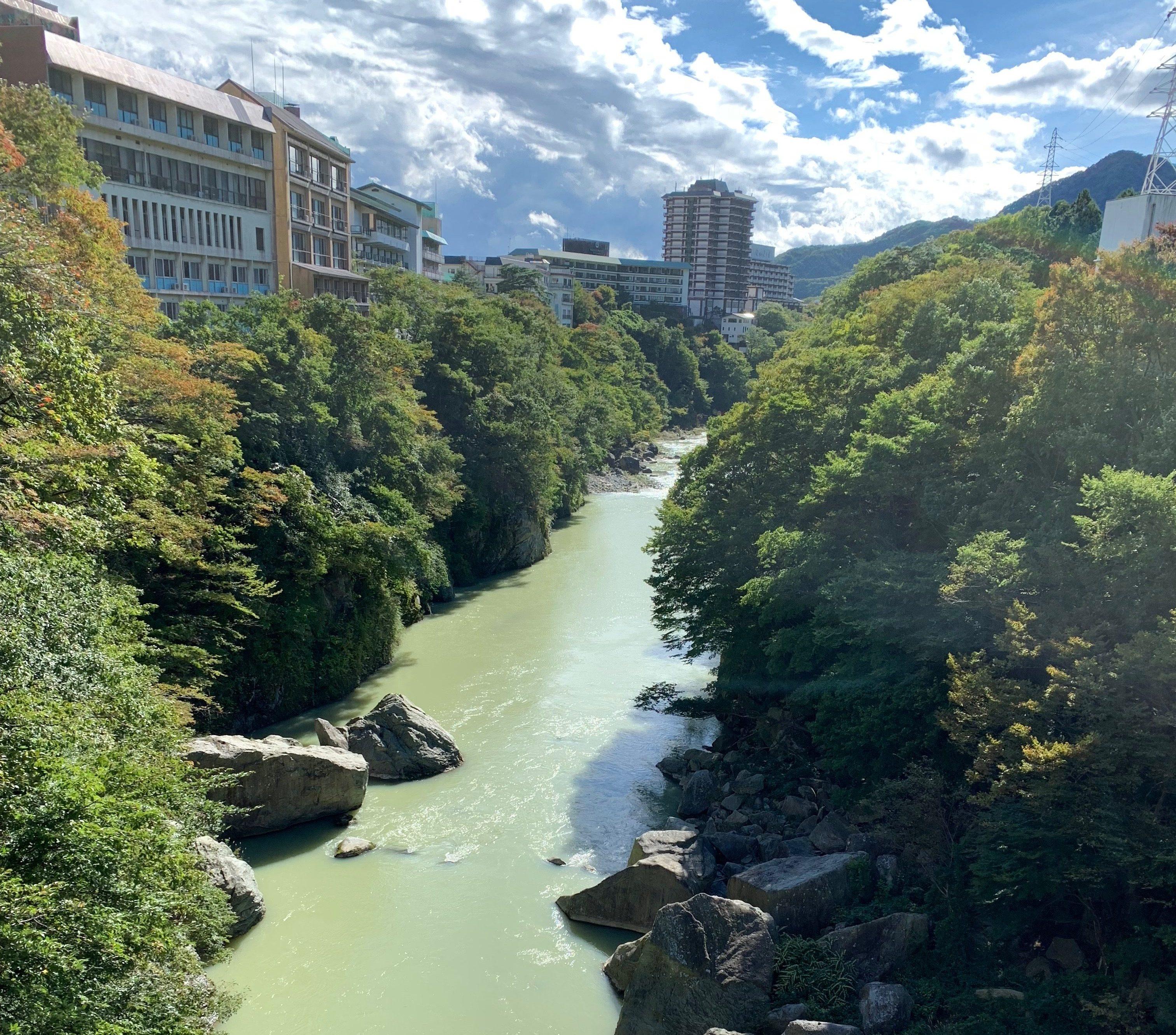 鬼怒川の川