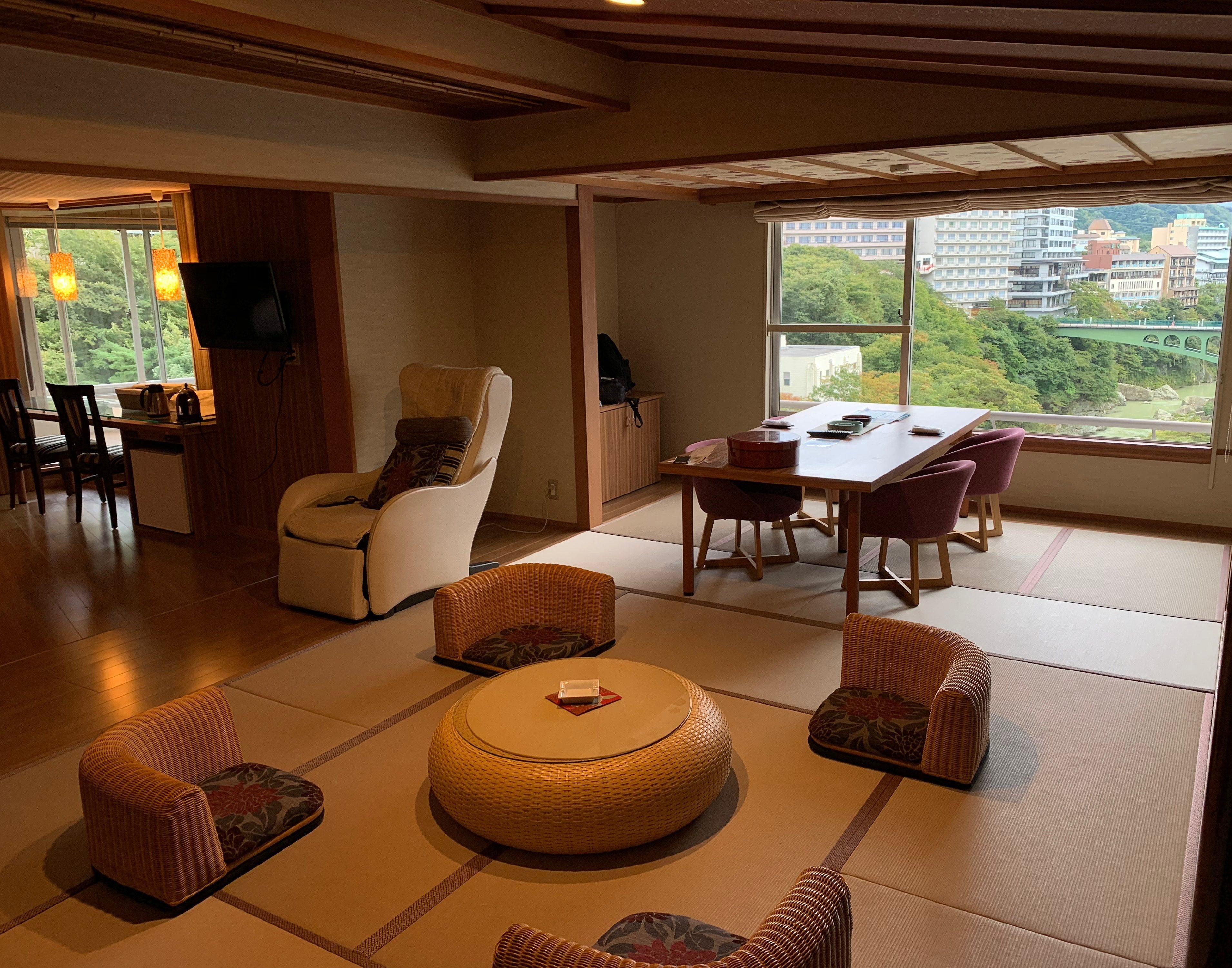 鬼怒川プラザホテルの部屋